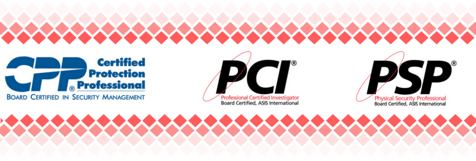 ASIS Certification Logos